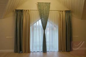 Спальная комната частный дом
