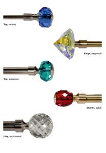Карнизы с кристаллами 3